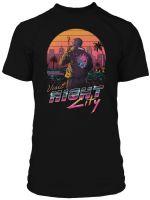 Hračka Tričko Cyberpunk 2077 - Destination City (americká vel. M / evropská L)