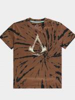oblečení pro hráče Tričko dámské Assassins Creed: Valhalla - Tie Dye Printed (velikost M)