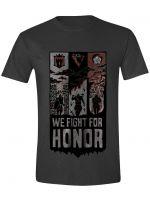 oblečení pro hráče Tričko For Honor - We Fight Banner (velikost L)