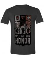 oblečení pro hráče Tričko For Honor - We Fight Banner (velikost S)