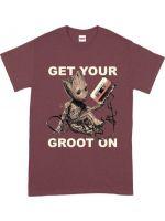Hračka Tričko Guardians of the Galaxy - Get Your Groot On (velikost L)