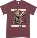 Hračka Tričko Guardians of the Galaxy - Get Your Groot On (velikost XL)