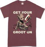Hračka Tričko Guardians of the Galaxy - Get Your Groot On (velikost XXL)