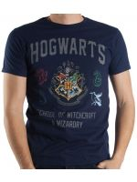 Hračka Tričko Harry Potter - Hogwarts (velikost M)