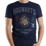 Herné oblečenie Tričko Harry Potter - Hogwarts (veľkosť XL)