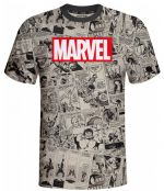 Hračka Tričko Marvel - Comics (velikost XL)