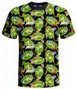 oblečení pro hráče Tričko Rick and Morty - Portals (velikost XL)