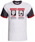 oblečení pro hráče Tričko Rick and Morty - Wanted (velikost S)