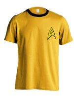 Hračka Tričko Star Trek - Command Uniform (velikost L)