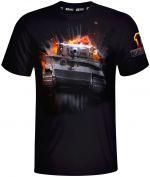 Hračka Tričko World of Tanks - 10th Anniversary Tiger (velikost M)