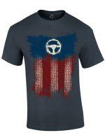 oblečení pro hráče Tričko American Truck Simulator - Truckin USA (velikost M)