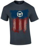 oblečení pro hráče Tričko American Truck Simulator - Truckin USA (velikost XL)