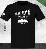 oblečení pro hráče Tričko ArmA III - 5 Years of ArmA III (velikost XXL)