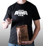 oblečení pro hráče Tričko ArmA III - Logo (velikost XL)