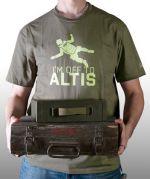 Herné oblečenie Tričko ArmA III - Off to Altis (veľkosť M)