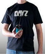 oblečení pro hráče Tričko DayZ - Logo (velikost XL)