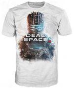oblečení pro hráče Tričko Dead Space 3 - Isaac Close-Up (velikost M)
