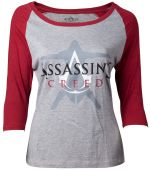 oblečení pro hráče Tričko dámské Assassins Creed - Crest Logo (velikost XL)