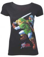 Herné oblečenie Tričko dámske Legend Of Zelda - Ocarina Of Time (veľkosť XL)