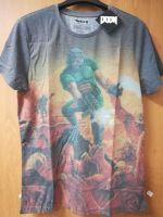 oblečení pro hráče Tričko Doom - Box Art Sublimation (velikost XL)