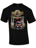 Herné oblečenie Tričko Euro Truck Simulator - Road to the Black Sea (veľkosť M)