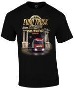 Herné oblečenie Tričko Euro Truck Simulator - Road to the Black Sea (veľkosť XXL)