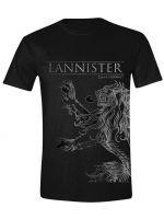 oblečení pro hráče Tričko Game of Thrones - Lannister House Sigil (velikost XXL)