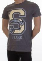 oblečení pro hráče Tričko Game of Thrones - Stark Varsity (velikost M)