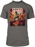 Herné oblečenie Tričko PUBG - BOOM (americká veľ. XL / európska XXL)