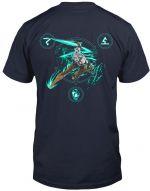oblečení pro hráče Tričko Zaklínač - Lion of Cintra (americká vel. XL / evropská XXL)