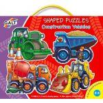 Tvarované puzzle - pracovné stroje