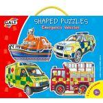 Tvarované puzzle - záchranné vozidlá