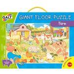 Veľké podlahové puzzle - na farme