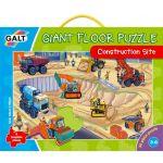 Veľké podlahové puzzle - na stavenisku
