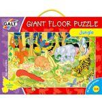 Veľké podlahové puzzle - zvieratká v džungli