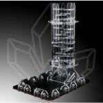 Stolní hra Věž na házení kostek Crystal Twister