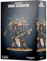 W40k: Chaos Knight: Knight Desecrator (1 figurka) (STHRY) + figúrka zadarmo