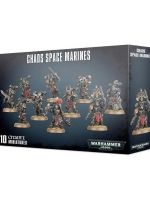W40k: Chaos Space Marines (10 figúrok) (STHRY) + figúrka zadarmo