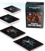 Stolová hra W40k: Chaos Space Marines Datacards