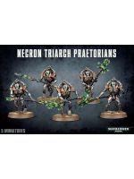 Stolní hra W40k: Necron Triarch Praetorians (5 figurek) (poškozený obal)