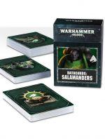 W40k: Salamanders Datacards (STHRY) + figúrka zadarmo