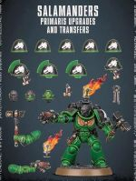 Stolní hra W40k: Salamanders Primaris Upgrades and Transfer