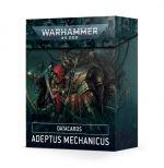Hračka W40k: Adeptus Mechanicus Datacards (2021)