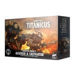 W40k: ADEPTUS TITANICUS Cerastus Knights Acheron and Castigator (4 figúrky) (STHRY)