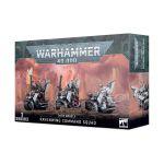 Stolová hra W40k: Dark Angels: Ravenwing Command Squad (3 figúrky)