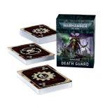 Hračka W40k: Death Guard Datacards (2021)