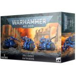 Hračka W40k: Space Marines Outriders (3 figurky)