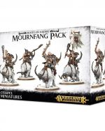 W-AOS: Beastclaw Raiders - Mournfang Pack (4 figúrky) (STHRY) + figúrka zadarmo