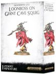 W-AOS: Gloomspite Gitz - Loonboss on Giant Cave Squig (STHRY)