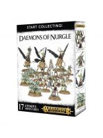 Stolová hra W-AOS: Start Collecting - Daemons of Nurgle (poškodený obal)